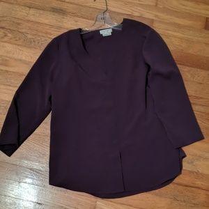 Medium eggplant blouse
